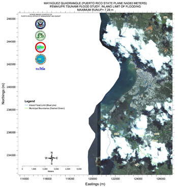 Tsunami Flood Map